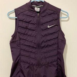 Nike Aeroloft 800 Women's Running Vest Purple XS